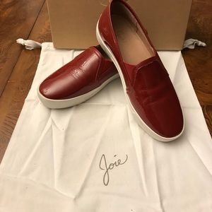 Joie Huxley style flat heeled shoes